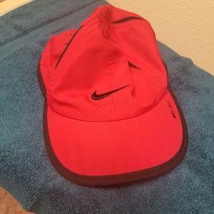 Nike Red Dri Fit Hat